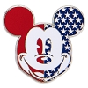 Disney Pin - Americana Mickey Mouse - Icon
