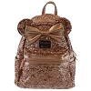 Disney Loungefly Mini Backpack - Minnie Mouse - Rose Gold Sequin
