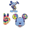 Disney 3 Pin Set - Mickey Mouse Memories - Peace & Love
