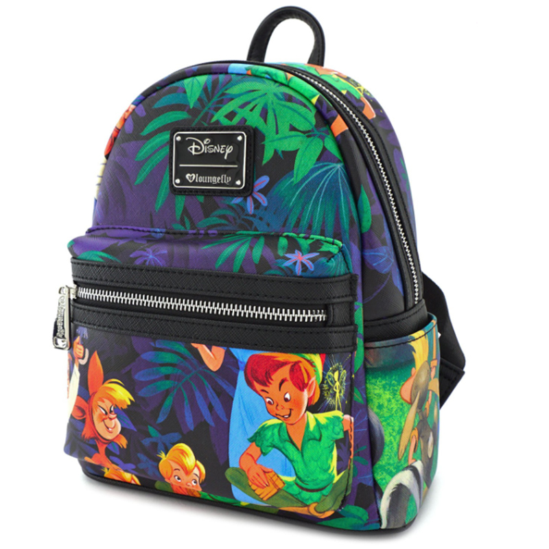 fbe4aac87a1 Disney Faux Leather Mini Backpack by Loungefly - Peter Pan