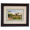 Disney Larry Dotson Print - Framed - Disney's Animal Kingdom Savannah