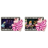 Disney Animation Celebration Pin - Alice In Wonderland Filmstrip - Lenticular
