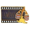 Disney Animation Celebration Pin - Fantasia Filmstrip - Lenticular
