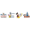 Disney Animation Celebration Pin - Logos Through The Years Pin Set
