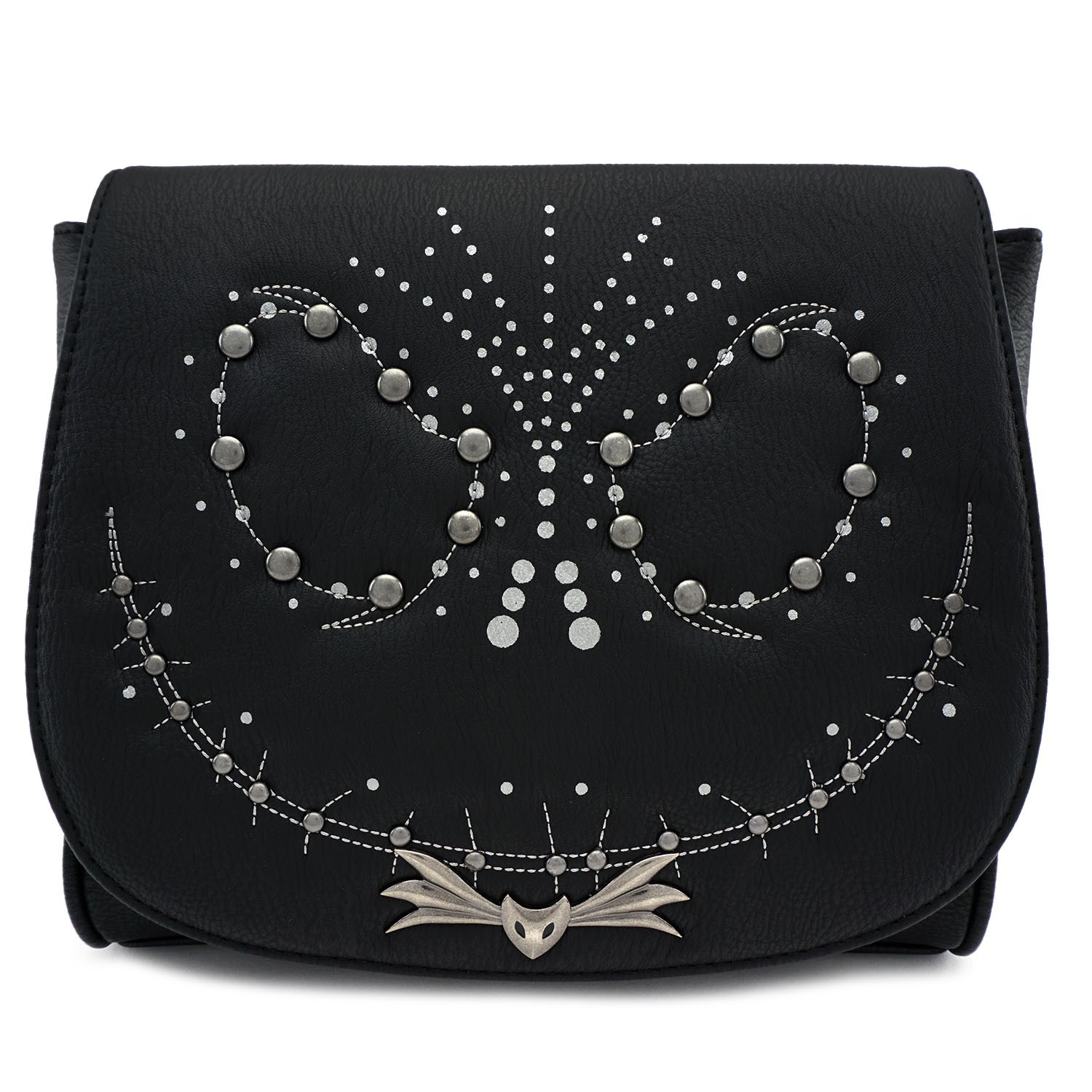 Disney Loungefly Crossbody Bag - Nightmare Before Christmas Studded Jack Face