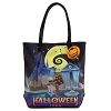 Disney Loungefly Tote Bag - Nightmare Before Christmas Halloweentown and Christmastown - Purse