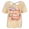 Disney Women's Shirt - Star Wars - Captain of the Millennium Falcon