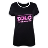 Disney Women's Shirt - Star Wars - Solo: A Star Wars Story Logo