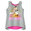 Disney Girl's Shirt - Star Wars - Qi'ra ''My Way'' Layered Tank Top
