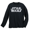 Disney ADULT Shirt - Star Wars - Star Wars Logo Long Sleeve
