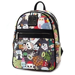Disney Loungefly Backpack - Nightmare Before Christmas Chibi Character Cuties Mini Backpack