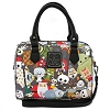 Disney Loungefly Satchel Bag - Nightmare Before Christmas Chibi Characters - Purse