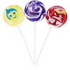 Disney Candy Co. - Inside Out - Joy, Fear, And Anger 3 Pack Lollipops