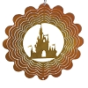 Disney EyCatcher Spinner - Castle Silhouette  - 6''