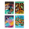 Disney Magnet Set - Attraction Posters by Dave Perillo