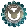 Disney EyCatcher Spinner - Mickey Icon  - 8''