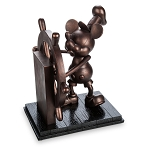 Disney Mickey Figure - Steamboat Willie Bronzed Big Figure