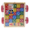 Disney Game - Mickey Mouse Wood Blocks and Cart Set - Disneyland