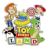 Disney Toy Story Land Pin - Logo