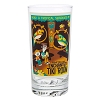 Disney Tall Glass - The Enchanted Tiki Room by Dave Perillo