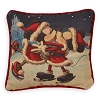 Disney Throw Pillow - Holiday Cheer Mickey and Minnie Castle