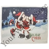 Disney Throw Blanket - Mickey and Minnie Holiday Cheer