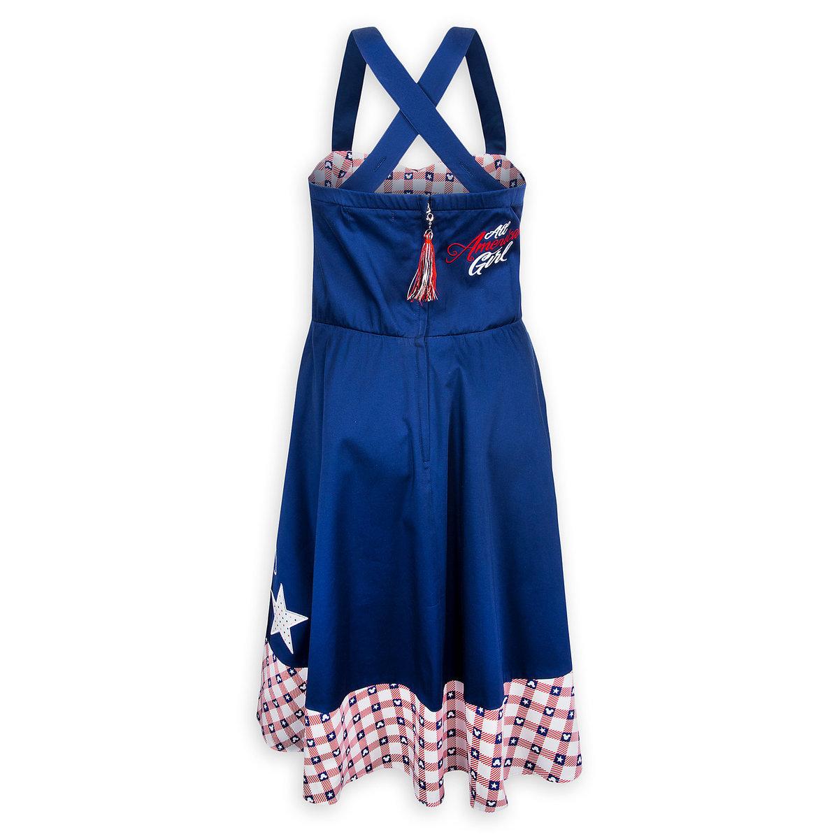 2fdb72dbb Disney Women's Dress - Mickey Mouse Americana