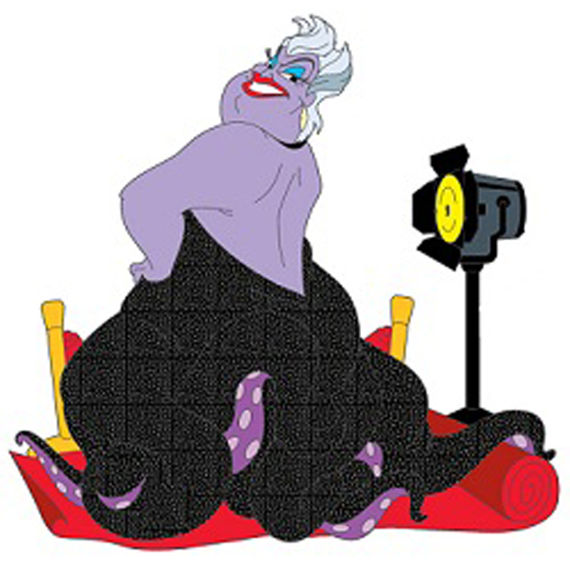 Disney Soda Fountain Pin - Ursula from The Little Mermaid