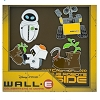 Disney WALL-E Pin Set - Wall-E, Eve, M-O, and the Booth with plant
