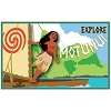 Disney Soda Fountain Pin - Motunui Postcard - Moana