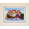 Disney Larry Dotson Print - EPCOT China Pavilion