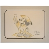 Disney Artist Sketch - Mickey Mouse - Graduation - Orange