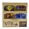 Disney Parks Signature Puzzle Set - Princess Seasonal Mosaic Murals - Set of 4 Puzzles
