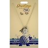 Disney Necklace and Earrings Set - Greetings From - EPCOT