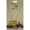 Disney Necklace and Earrings Set - Greetings From - Hollywood Studios