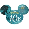 Disney Car Magnet - runDisney Princess Half Marathon Weekend 2018 10K