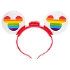 Disney Light-Up Ears Headband - Rainbow Mickey Mouse Pride