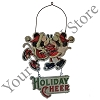 Disney Door Hanger - Good Tidings Mickey and Minnie ''Holiday Cheer''