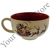 Disney Ceramic Bowl Mug - Good Tidings Mickey and Minnie