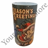 Disney LED Candle - Good Tidings Mickey and Minnie Season's Greetings