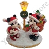 Disney LED Figurine - Good Tidings Mickey and Minnie