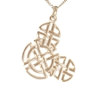 Disney Necklace - Mickey Celtic Knot - Silver