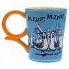 Disney Coffee Cup Mug - Finding Nemo - Mine Mine Mine - Blue