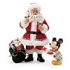 Disney Department 56 Figurine - Mickey's Milk and Cookies for Santa