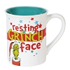 Universal Coffee Cup - Dr. Seuss - Resting Grinch Face