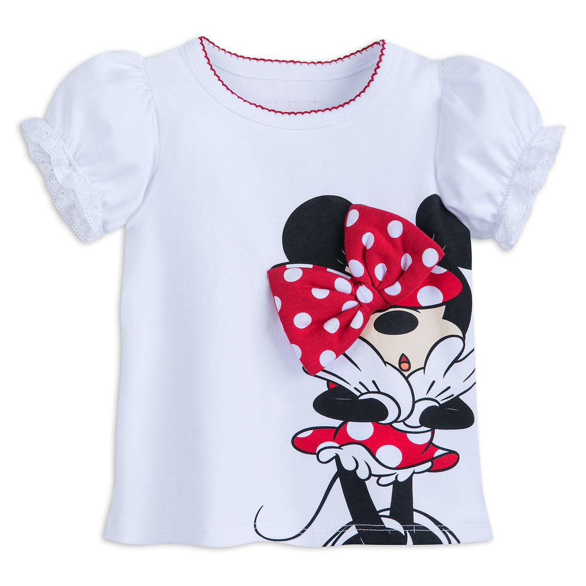 3df2b4f1b Disney Baby Shirt - Minnie Mouse Bow T-Shirt for Girls