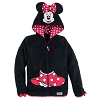 Disney Girl's Hoodie - Minnie Mouse Hooded Fleece Jacket for Girls