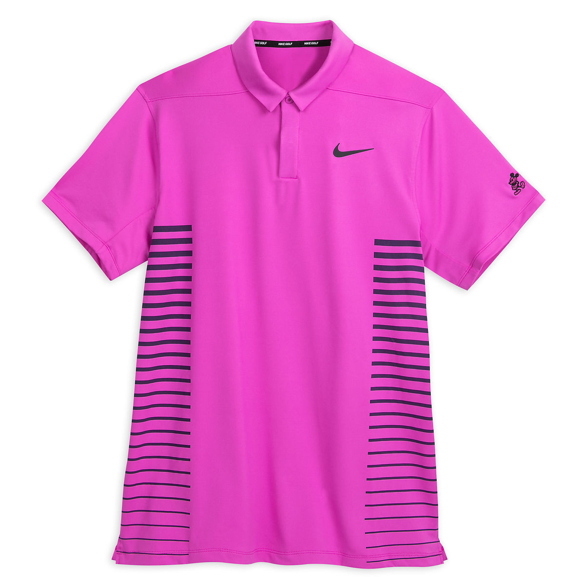 7ad6c9f93fee Disney Men s Shirt - Mickey Performance Nike Golf Polo Shirt - Magenta