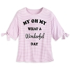 Disney Women's Shirt - My Oh My What a Wonderful Day