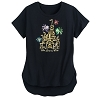Disney Women's Shirt - Cinderella Castle Sequined Shirt